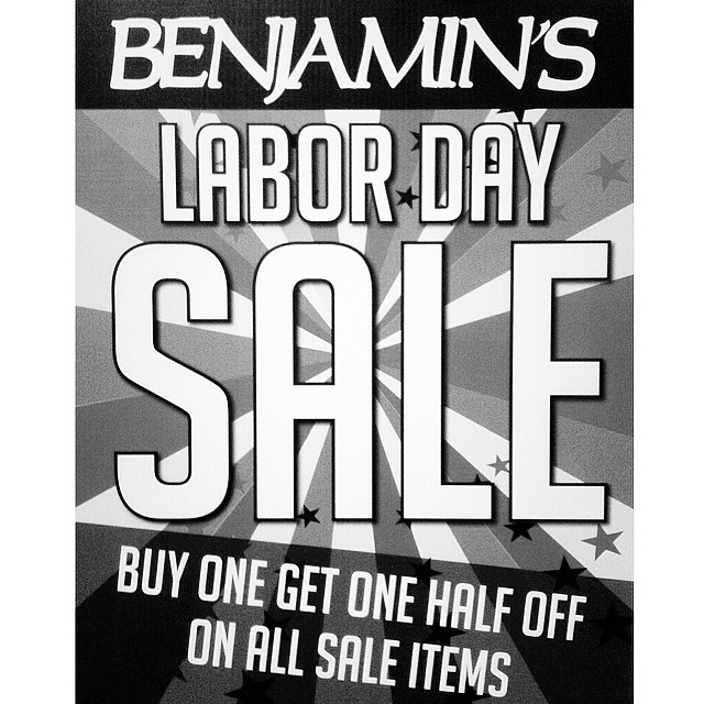LABOR DAY SALES still going on through Monday!! Don't miss these deals! Happening at our Airline rd location and La Palmera Mall!!! #mylpreason #benjaminscc #corpuschristi #cctx #skateboarding #surfing #labordaysale #benjaminsurfnskate