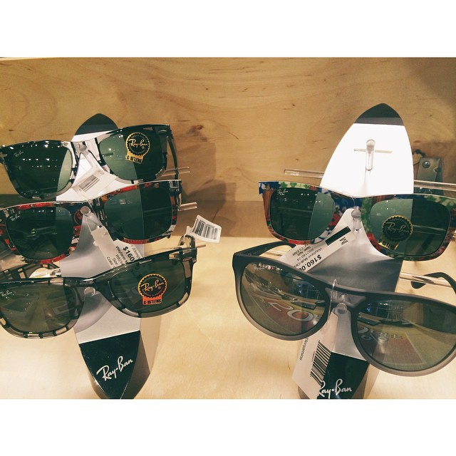 Raybans are still half off at the mall location!!! Get them while you can! #raybans #benjaminsurfnskate #sunnies #sunglasses #myLPreason