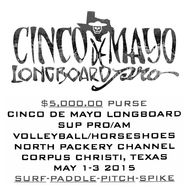 Have you signed up for cinco de mayo? It's coming quick! So don't forget! #cincodemayo #competition #surf #paddle #horseshoes #volleyball #benjaminsurfnskate #cctx