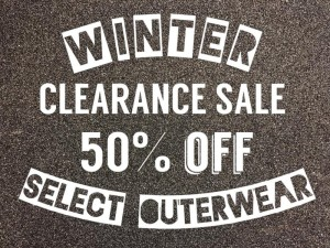 Winter clearance on all your favorite brands!